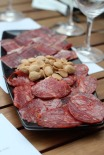 Jamón and chorizo ibérico and Marcona almonds